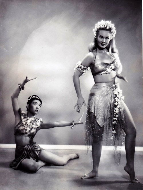 Performing dance Virginia Mayo, 1951