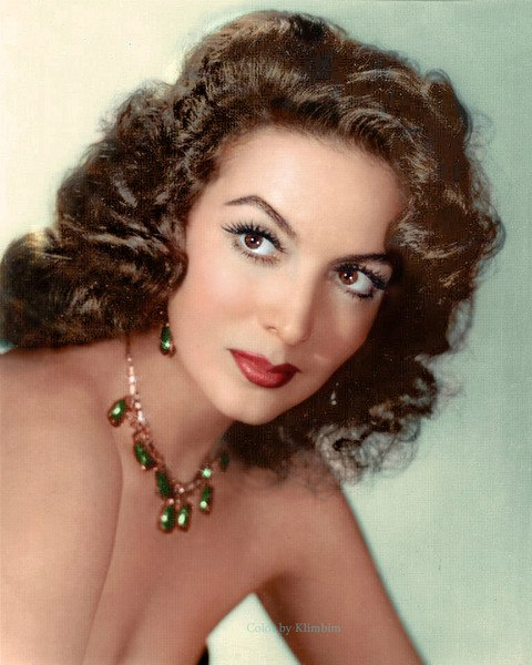Photo of 1947. Latin American cinema star Maria Felix
