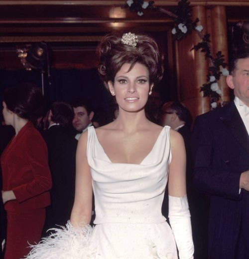 Photo of 1966. According to Empire magazine, she entered the list of '100 Sexiest Stars in Film History', Beauty Icon and New Woman Raquel Welch
