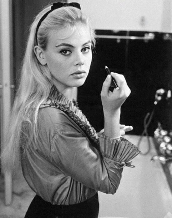 Photographed in 1960s beauty icon Swedish actress Britt Ekland