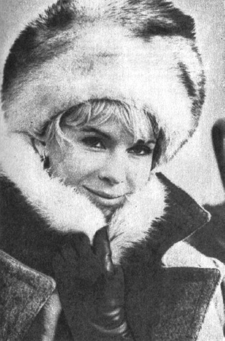 Popular Swedish actress Bibi Andersson