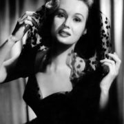 1940s Beautiful Hollywood actress Virginia Mayo