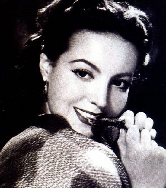 Popular in 1940s and 1950s, Gorgeous Mexican film actress Maria Felix (8 April 1914 – 8 April 2002)