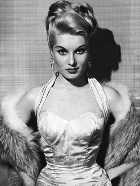 Popular in 1950s film actress Belinda Lee