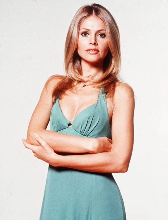 Popular in 1960s, Swedish actress Britt Ekland