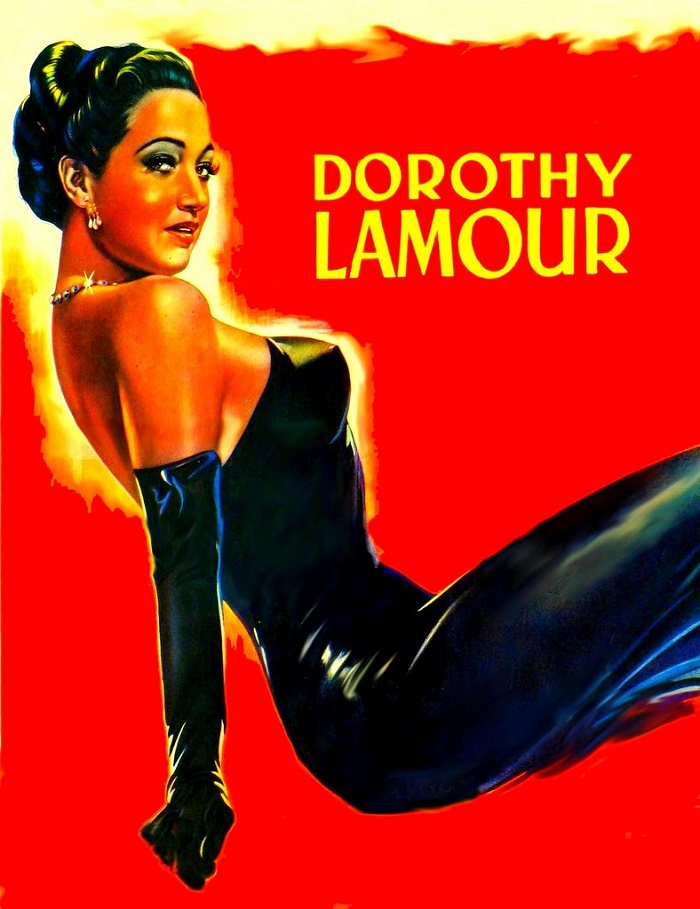 Poster. Dorothy Lamour