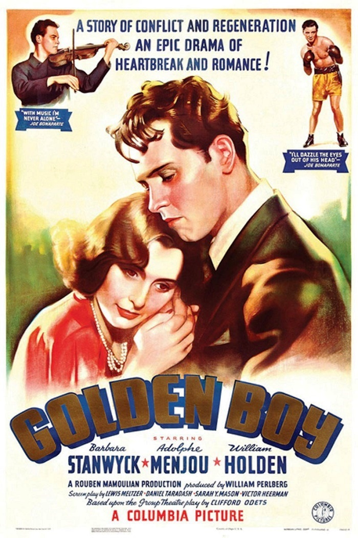 Poster. Golden Boy