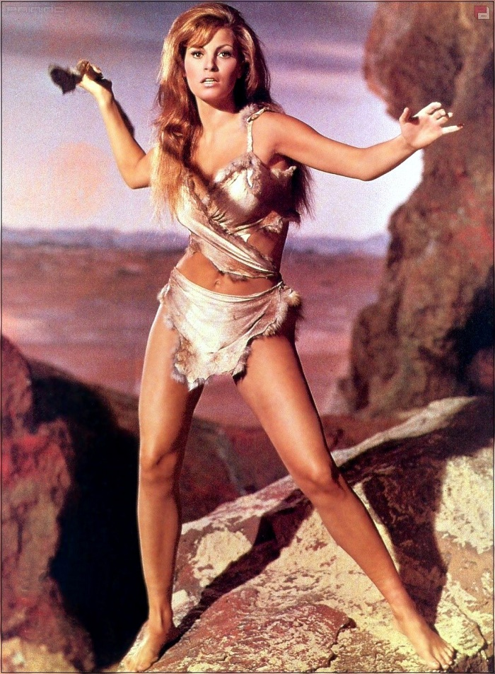 Promotional photo, One Million Years B.C. (1966). New Woman Raquel Welch