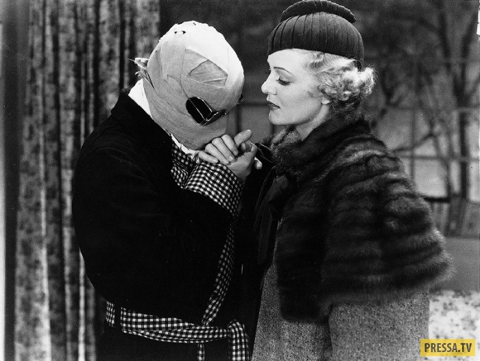 Rains's leading lady in The Invisible Man