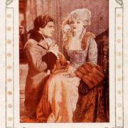 Ramon Navarro and Alice Terry. Scaramouche, 1923 poster