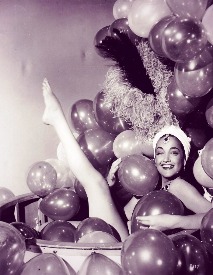 Retro actress Dorothy Lamour