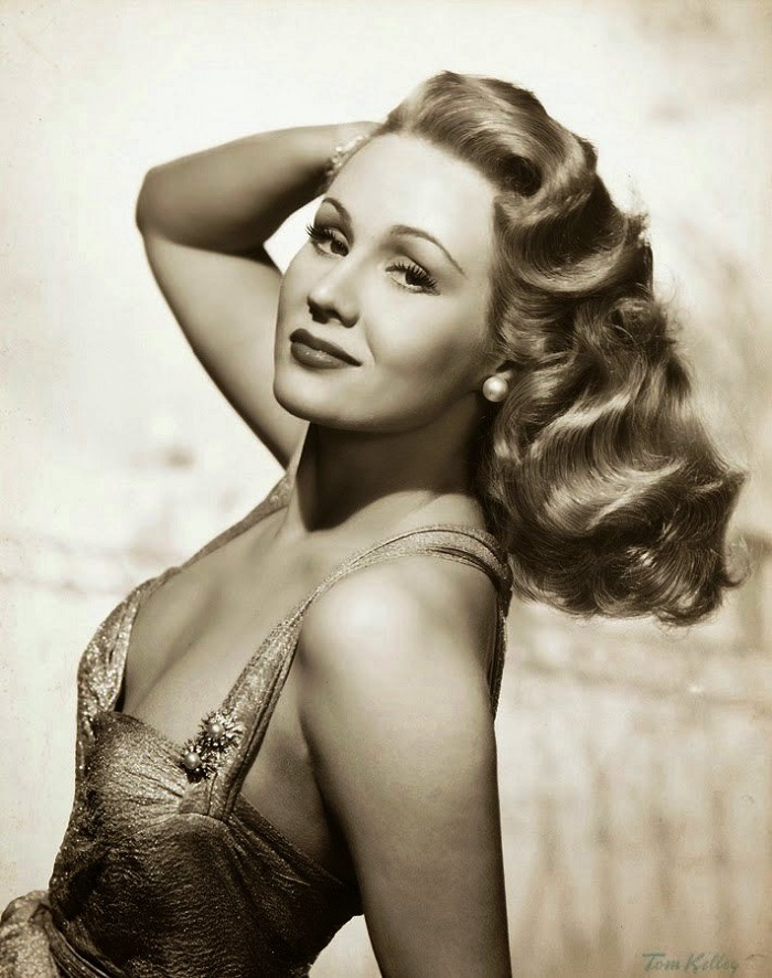 Retro beauty Virginia Mayo