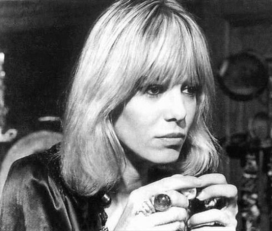 Rolling Stones muse, beautiful actress Anita Pallenberg