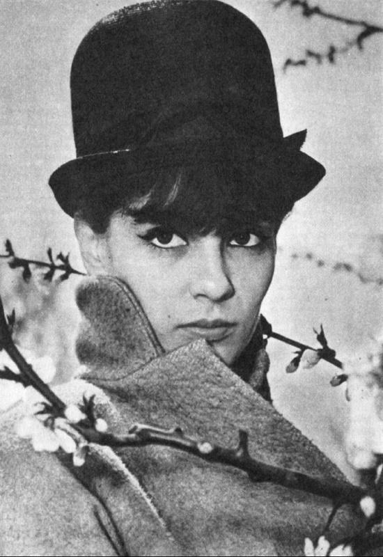 Romanian actress Irina Petrescu (19 June 1941 – 19 March 2013)