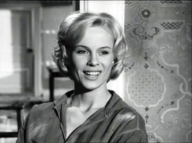 Scandinavian actress Bibi Andersson
