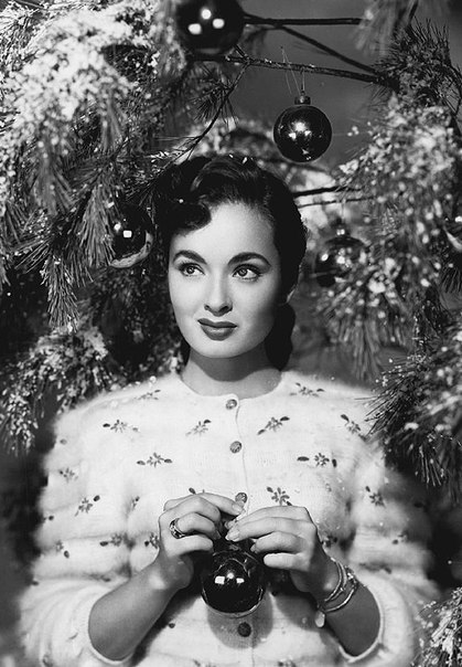 Seasonal greetings, Ann Blyth