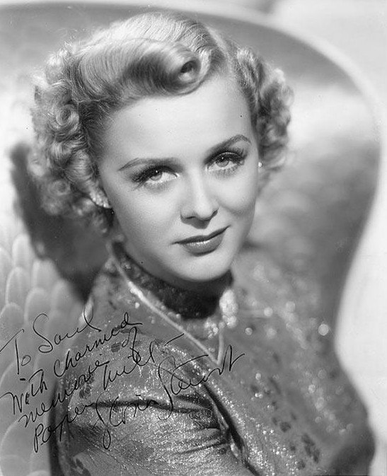 Signed photo, Gloria Frances Stuart