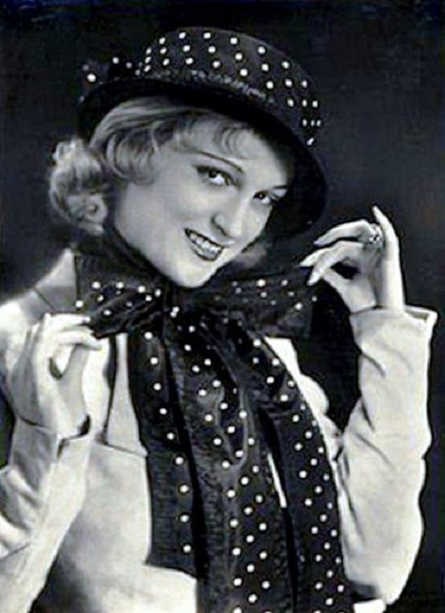 Silent and sound era actress Camilla Martha Horn (25 April 1903 – 14 August 1996)