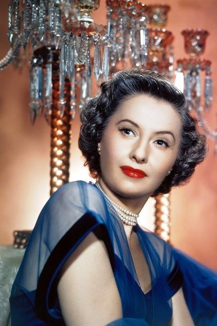 Singer, model and actress Barbara Stanwyck