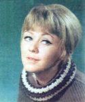 Hungarian film actress Judit Halasz