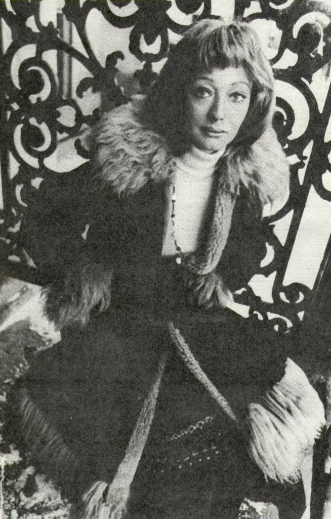 Soviet screen magazine photo, Ewa Szykulska