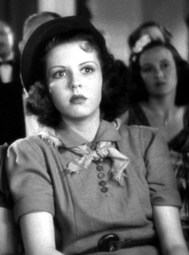 "14 year-old Ann Miller in ""Stage Door"", 1937"