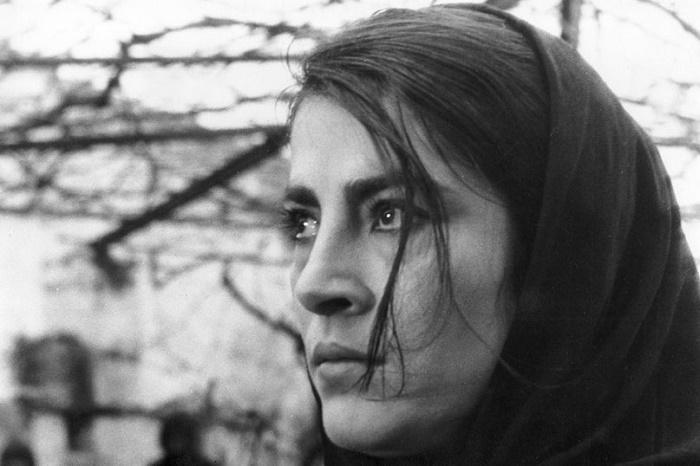 Still from the movie Zobra, 1964. Irene Papas