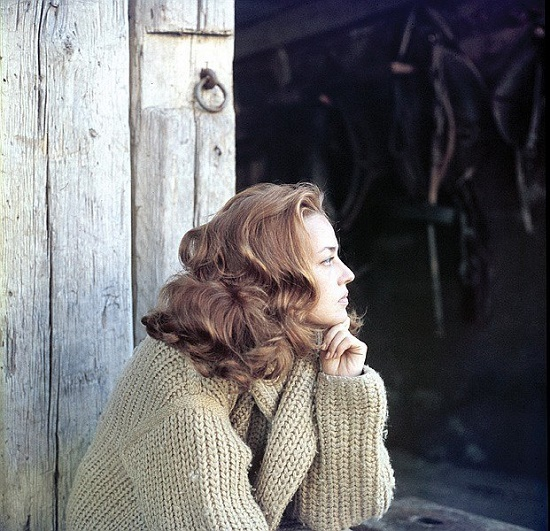 Talented French actress Jeanne Moreau
