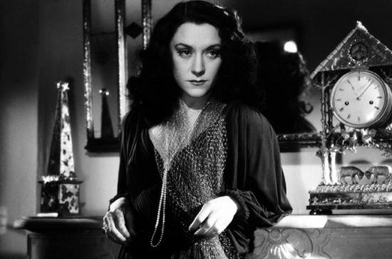 The Ladies of the Bois de Boulogne. 1945. Actress Maria Casares