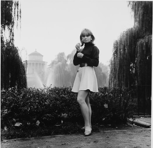 The Saxon garden. 1968, Magda Zavadskaya