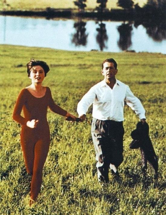 The cat will come. 1963. Slovak actress Emilia Vasharyova