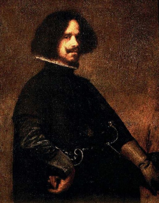 The family Velasquez was proud of his great-grandfather – the great Spanish artist Diego Velasquez. Photo reproduction of the painting 'Diego Velazquez, self-portrait', 1643