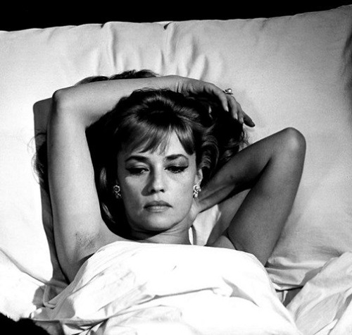 The ideal of the French film actress in the post–New Wave era Jeanne Moreau