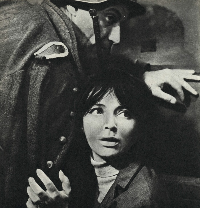 The longest night, 1966. Actress Nevena Kokanova
