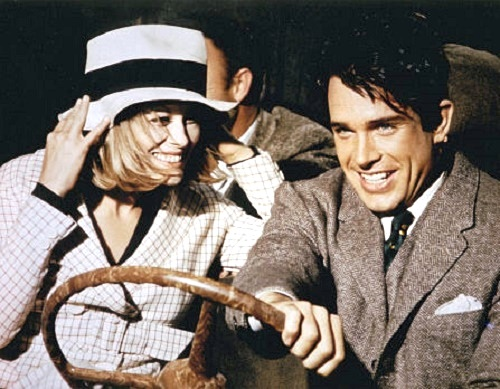 The movie Bonnie and Clyde