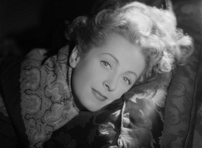 Theater and movie actress Danielle Darrieux