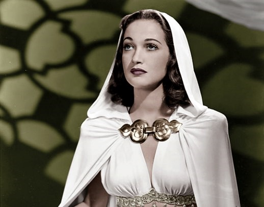 Unique actress Dorothy Lamour