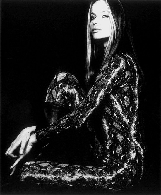 Unique and Legendary fashion model Veruschka