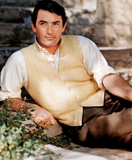 Until the end of her life, Velasquez will seem to have created this song for Gregory Peck
