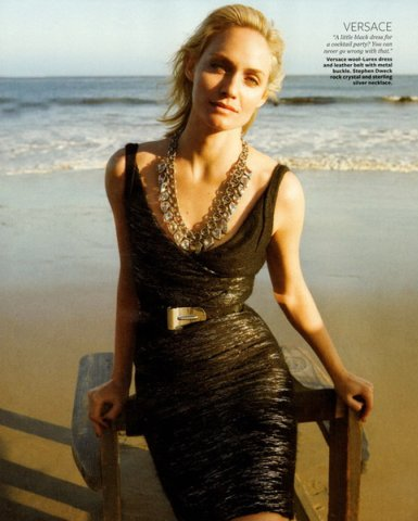 Versace, Amber Valletta