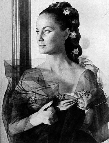 Vintage beauty Alida Valli