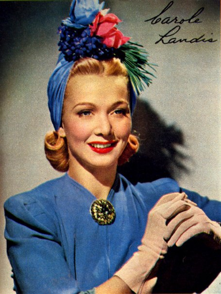Vintage beauty Carole Landis