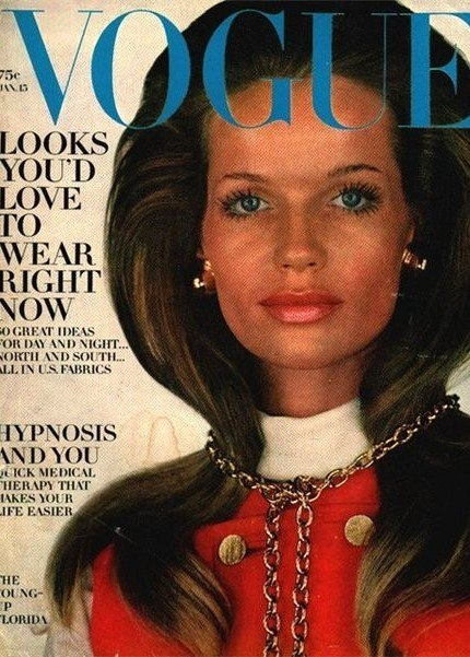 Vogue Cover girl Legendary fashion model Veruschka