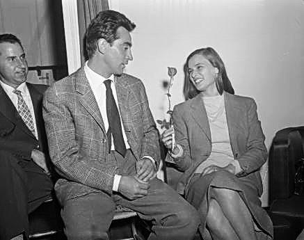 Walter Chiari & Lucia Bosè