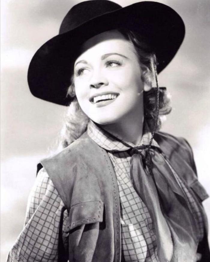 Western films actress Anne Jeffreys