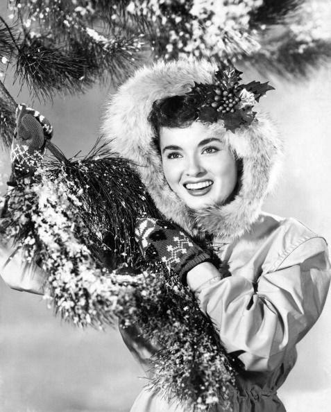 Winter greetings, Ann Blyth