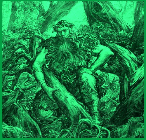 Woodland god Silvanus