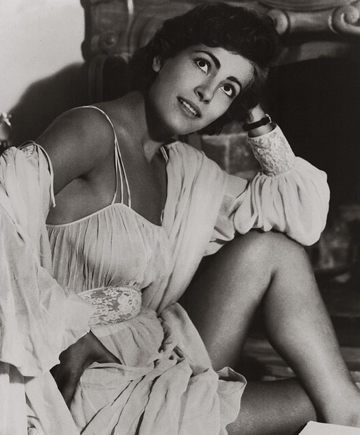Young actress Irene Papas