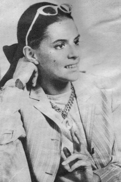 Young actress Irina Petrescu