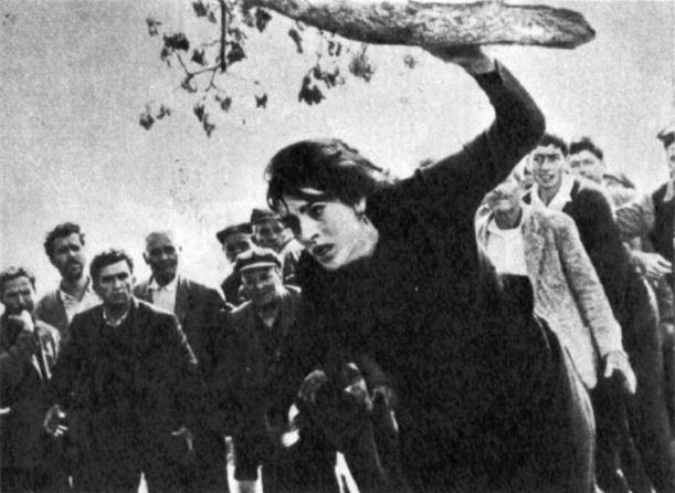 Zorba the Greek (1964) as the widow